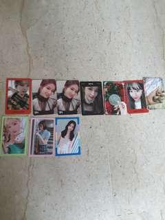 Twice Photocards for Sale(YOY,WIL)