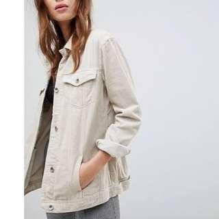 Cord Jacket - Cream