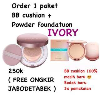 BB Cushion + Powder Foundation ( 1 paket )