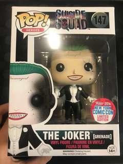 Funko Pop The Joker Grenade (Suicide Squad)