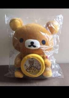 鬆弛熊擺設鐘