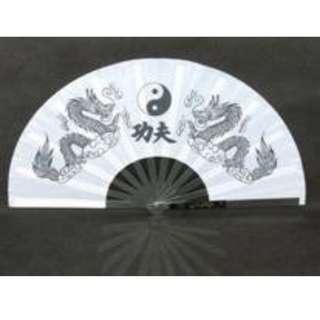 Yin yang Taichi fan