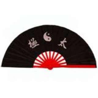 Yin yang Taichi color fan