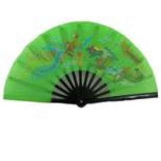 Dragon Tai Chi Color-combi fan