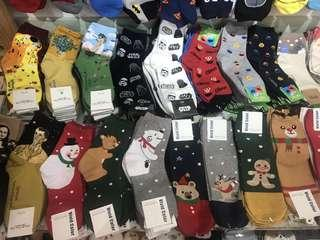 Christmast Design Cute Socks