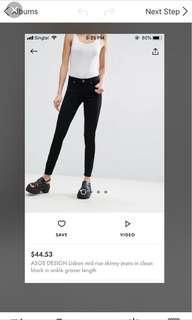 skinny jeans asos
