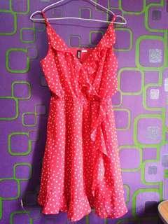 Preloved Chiffon Dress Divided by H&M