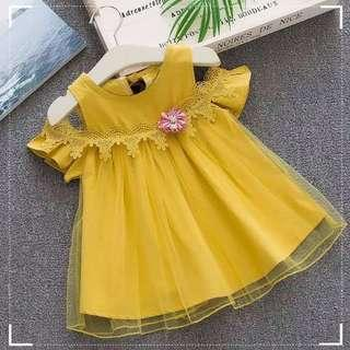 dress anak renda import