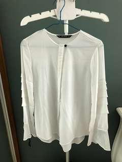 Sale Zara white tops