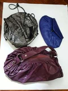 Assorted Leather Handbags