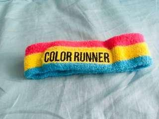 color runner headband 頭帶 頭箍