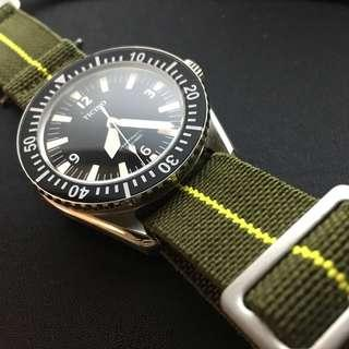 Marine Nationale MN Strap Nato for Tudor Omega Rolex Seiko 22mm