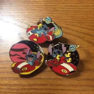 🚚 香港迪士尼stitch徽章(cast lanyard collection)