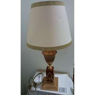 [Fast Deal Super Cheap] Da Vinci Gold Table Lamps Lighting