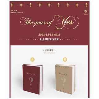 [Pre-order] TWICE 트와이스 THE 3RD SPECIAL ALBUM - THE YEAR OF YES (A ver. || B ver.)