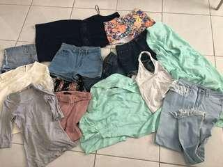 Bulk lot xs - s 6 - 8 clothes Ziggy Ally + more