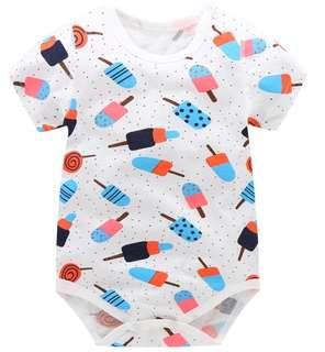 07f5bdba3 [In Stock - New Arrival] Ice-cream mesh baby romper / clothes
