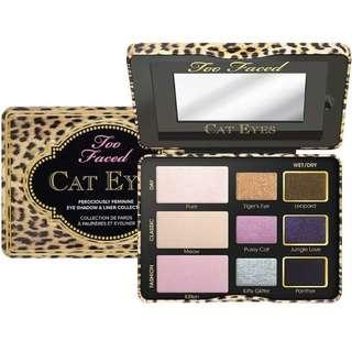 Too Faced Cat Eyes Eyeshadow & Liner Collection