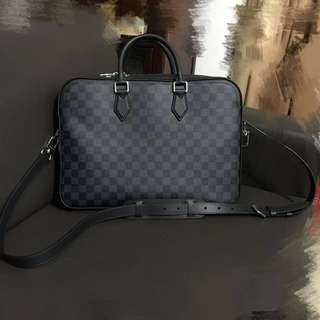 Louis Vuitton Dandy MM men business briefcase