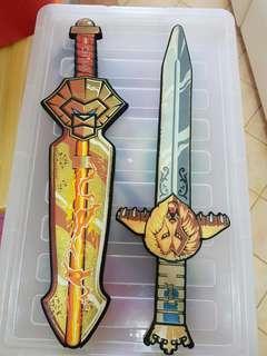 Legoland swords