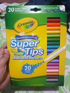 Crayola Super Tips Washable Markers 20's (1 of 2)