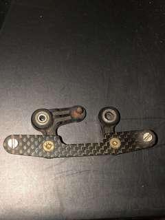 Vintage Tamiya Egress carbon streering part