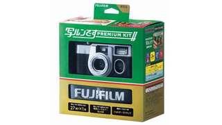 聖誕禮物 Fujifilm Premium Kit II 用完即棄紀念版相機
