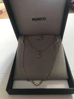 Mimco duo necklace ( 2 in 1 set)