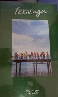 Seventeen Teen,age album (green ver)