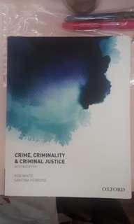 Crime, Criminality and Justice (2nd ed)