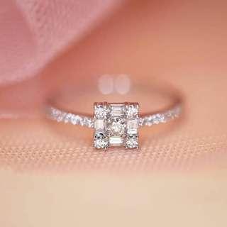 Hong Kong Setting Diamond Ring