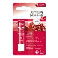 預購✈德國 100%天然 萊唯德Lavera 石榴植萃潤澤護唇膏4.5g