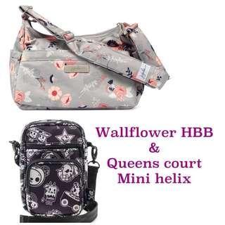 Retail Ju-Ju-Be Tokidoki Queens Court Mini helix & wallflower HBB