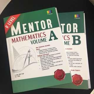 mathematics mentor o level volume a and b
