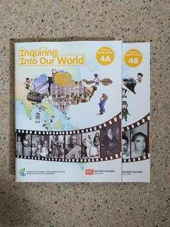 Inquiring Into Our World  4A & 4B Textbooks (Brand New)
