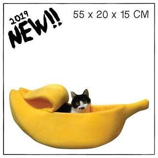 """Banana"" Cat Cradle Bed"