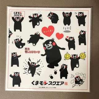 熊本熊 kumamon 貼紙