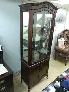 酸枝玻璃層板櫃