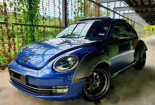 VOLKSWAGEN BEETLE 2.0 TSI (A) 6SPEED