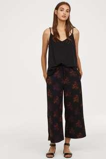 H&M floral cullotes size 34 petite