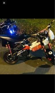 E-Bike Repair change tire Chain Controlla