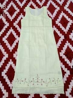 Dress maxi cotton