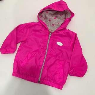 Brums Pink windbreaker jacket 6m