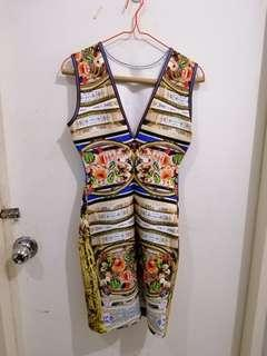Abstract Sexy Dress