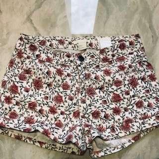 H&M Floral Printed Shorts