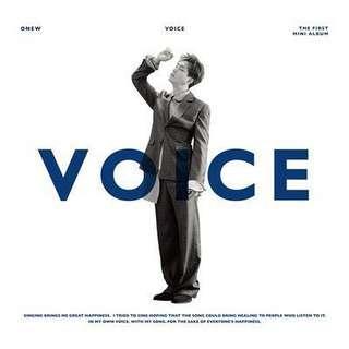 [PO] Onew (SHINee) Voice Album