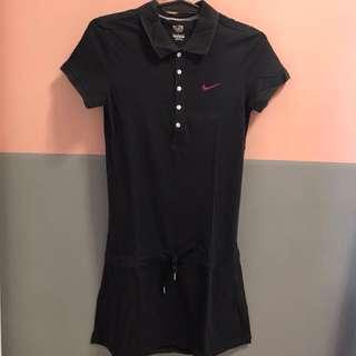Nike Black Polo Dress