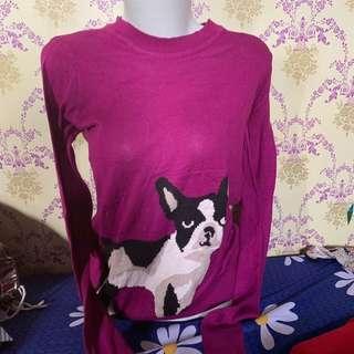 baju atasan panjang / sweater colorbox