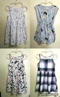 H&M and Cotton On Dresses