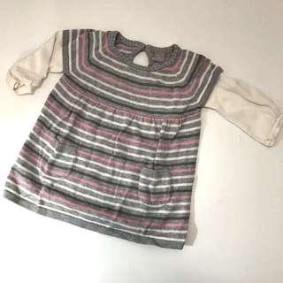 Baby girl striped top 3-6m